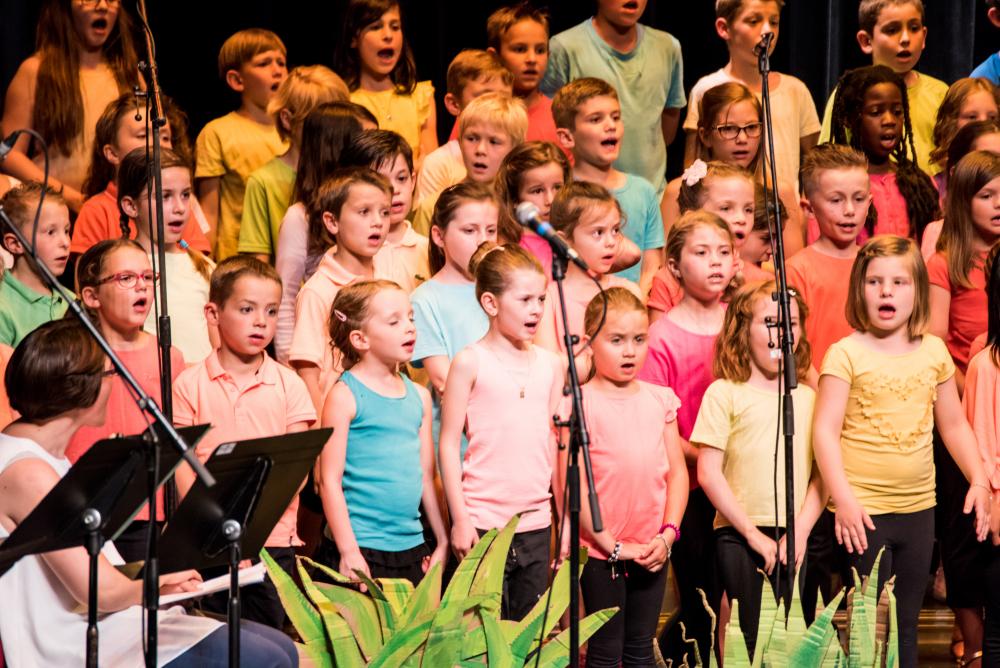 Chorale enfants Ecole de Saintes